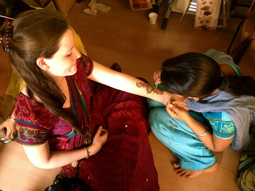 Hare Krishna, Henna and Helping to Empower Women