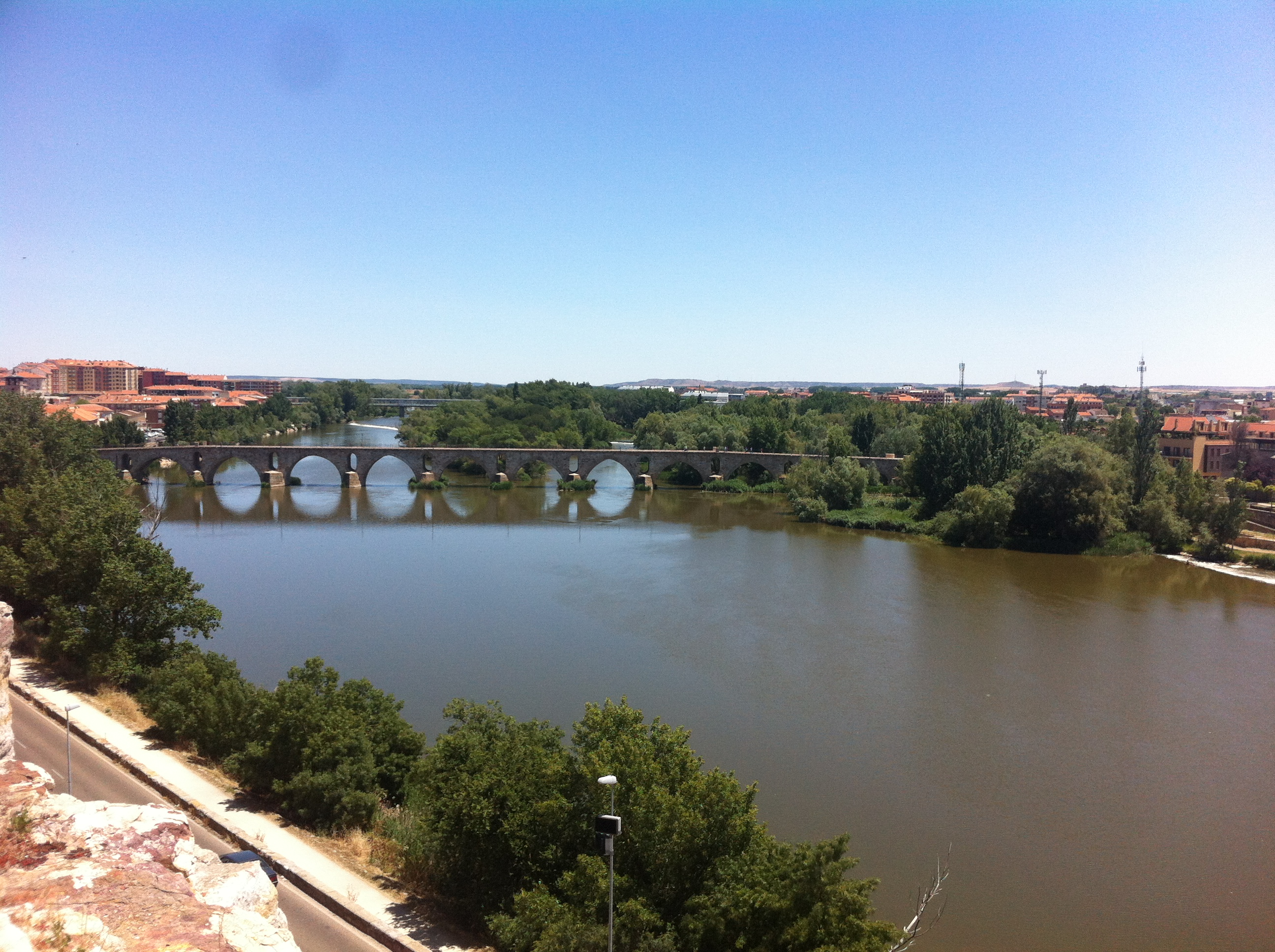 bridge at the river Duero