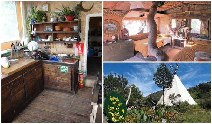 casita verde accommodation collage resized