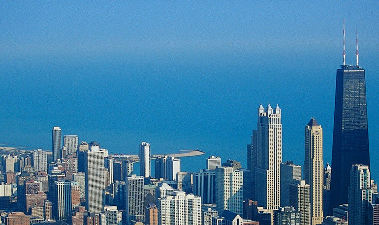 TEFL Chicago skyline