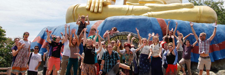 Greenheart Travel language exchange homestay Thailand group