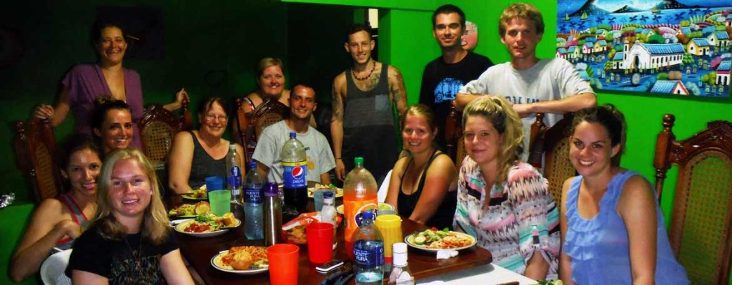 Greenheart Travel classmates in Nicaragua