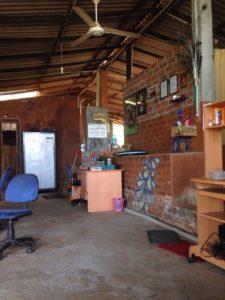 inside the field house