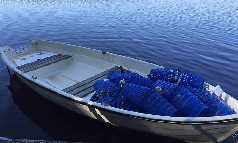 rowboat in sweden