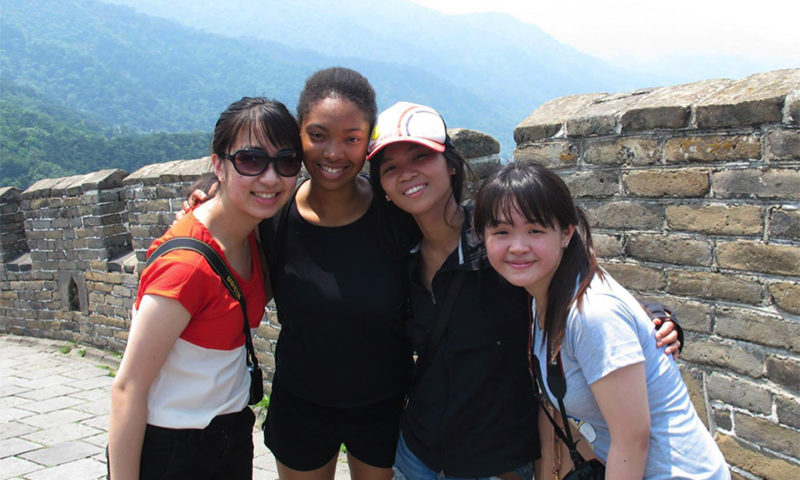 Shanelle at the Great Wall of China copy
