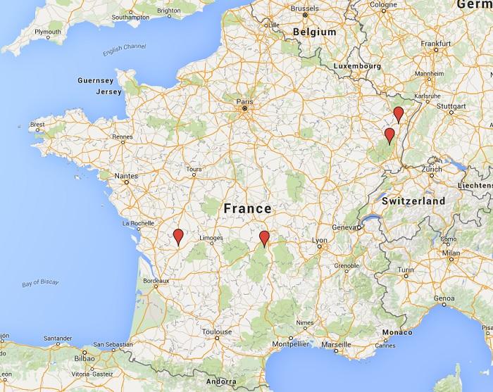 france bird volunteer project locations