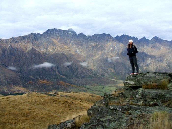 Greenheart Travel Alumni enjoying the view in New Zealand