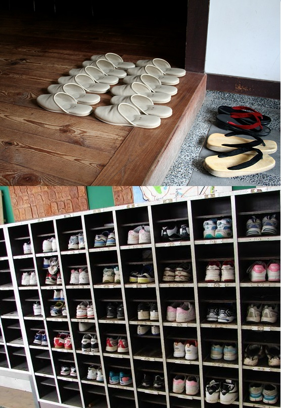 japanese shoe cubby