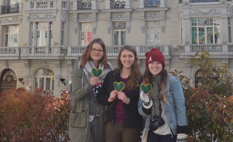 You can study abroad in Spain for a trimester, semester or academic year!