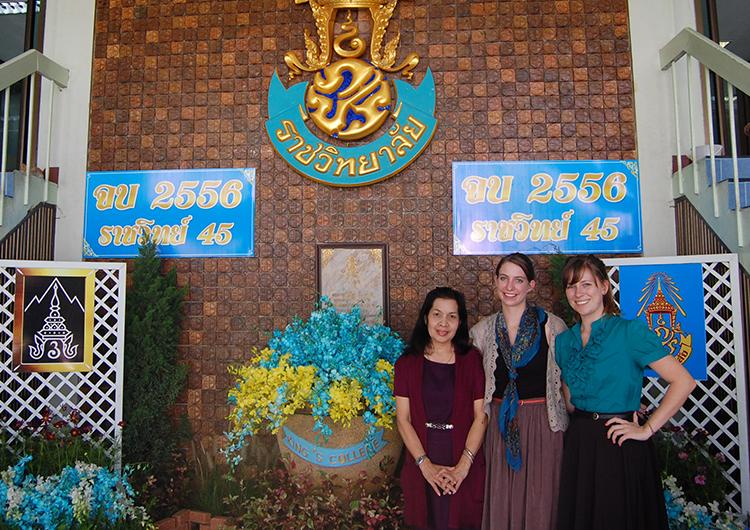 English teachers in Thailand.