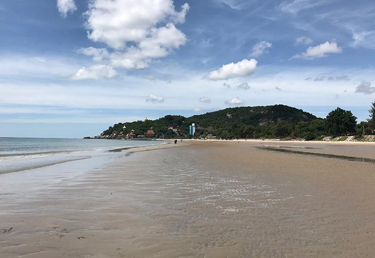A beach in Thailand.