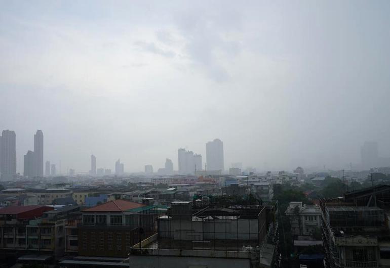 A hazy day in Thailand.