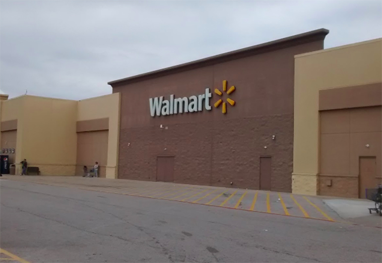 Emily's home Walmart in Wood River.