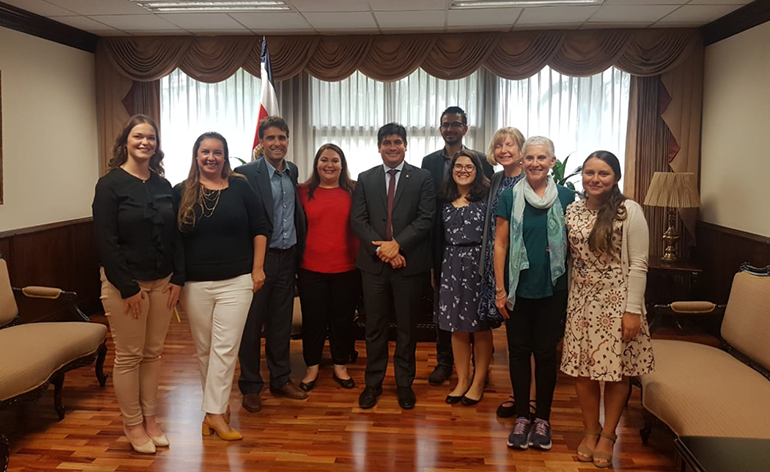 How Teaching Abroad Led to a Meeting with the President of Costa Rica