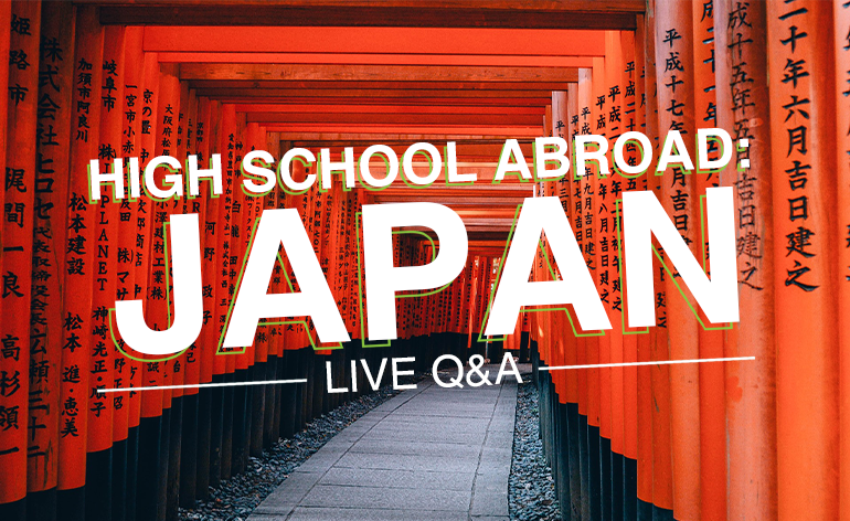 High School in Japan Live Q&A Podcast