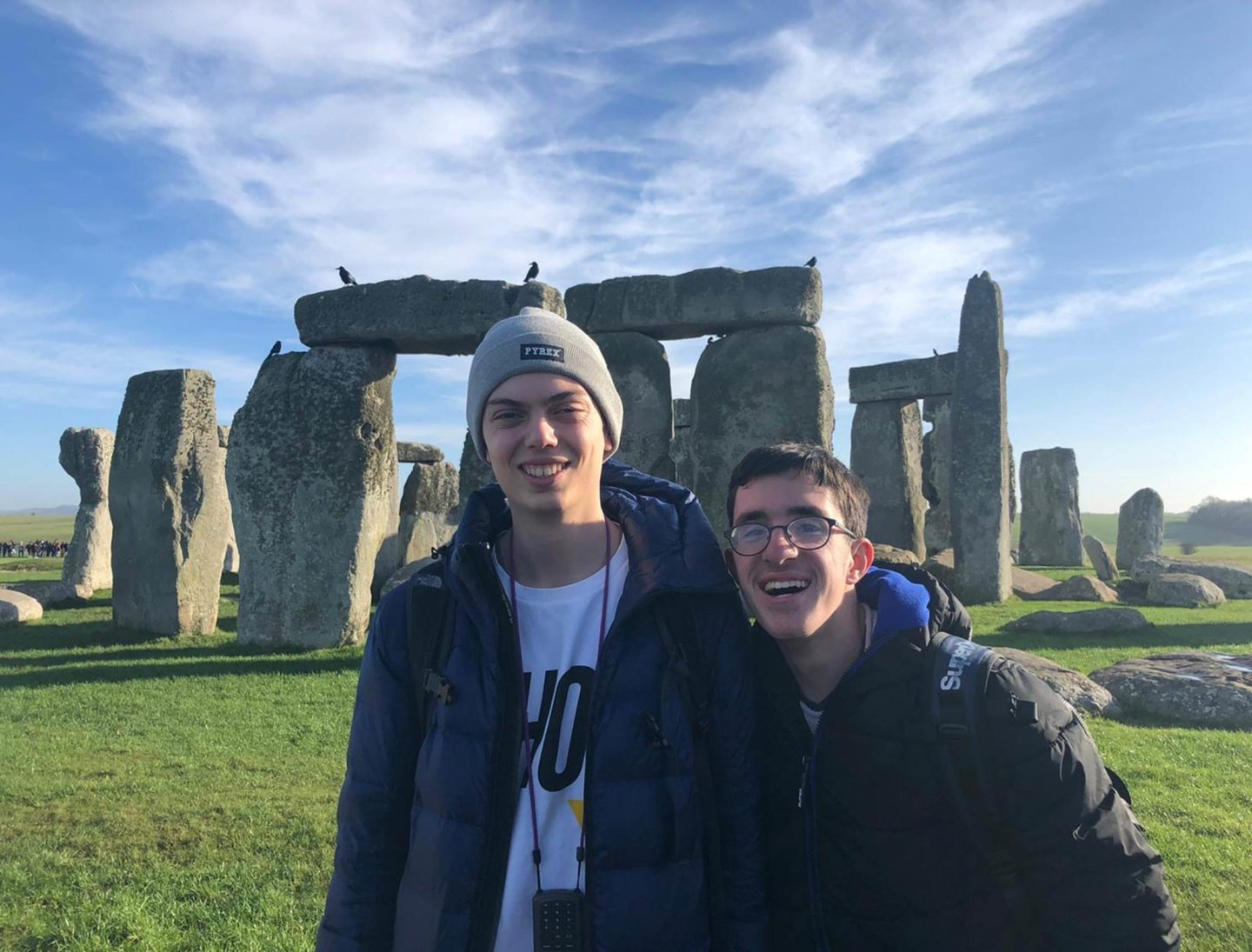 Traveling in England While on Exchange: Stonehenge and Bath